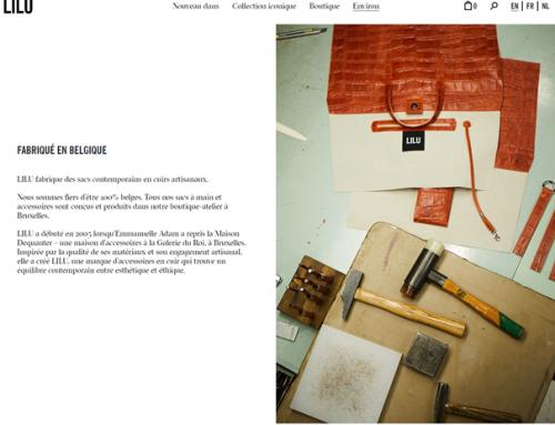 LILU :  marque de sacs 100% made in Belgium